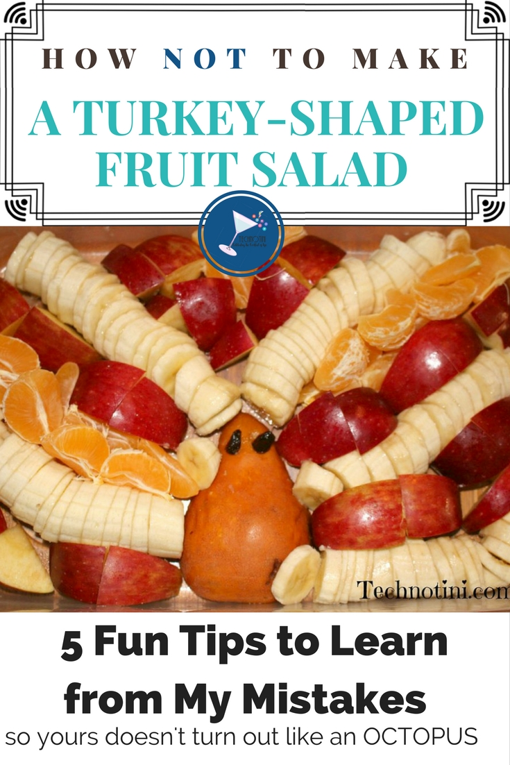 (and make an Octopus Fruit Salad)