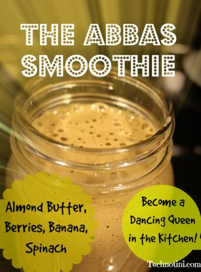 ABBaS Smoothie -Almond Butter, Berries, Bananas, and Spinach!