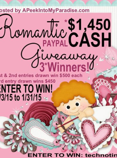 Romantic Cash Giveaway!!!