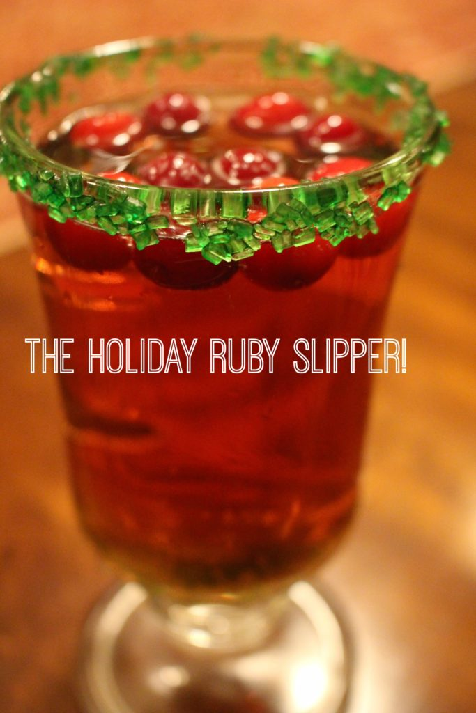 This refreshing cocktail is bubbly and fun, perfect for holiday parties! Bonus-you can easily make a big batch of it ahead of time and have ready to serve in your favorite pitcher.