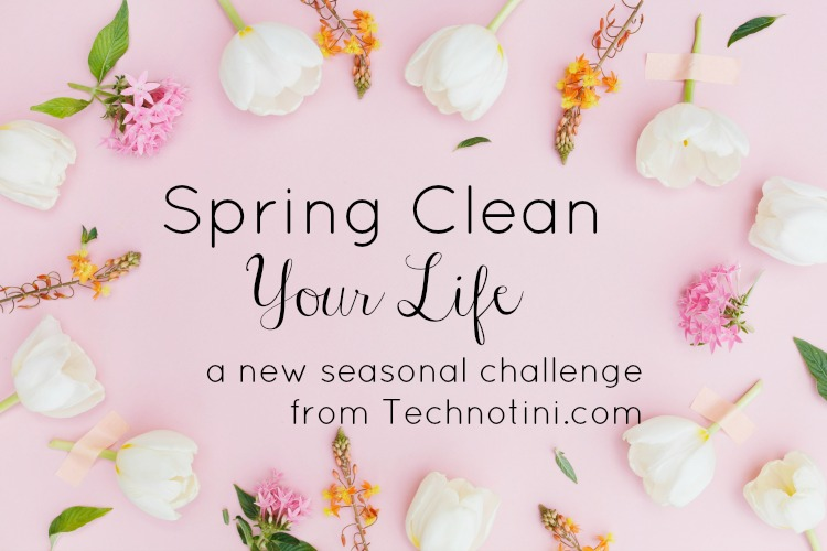 "Announcing the ""Spring Clean Your Life"" Challenge"