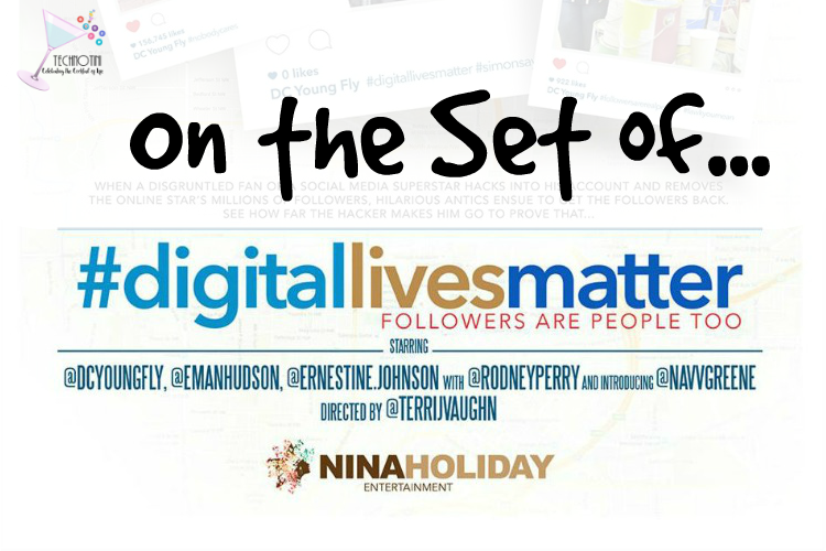 On the Set of #DigitalLivesMatter Movie