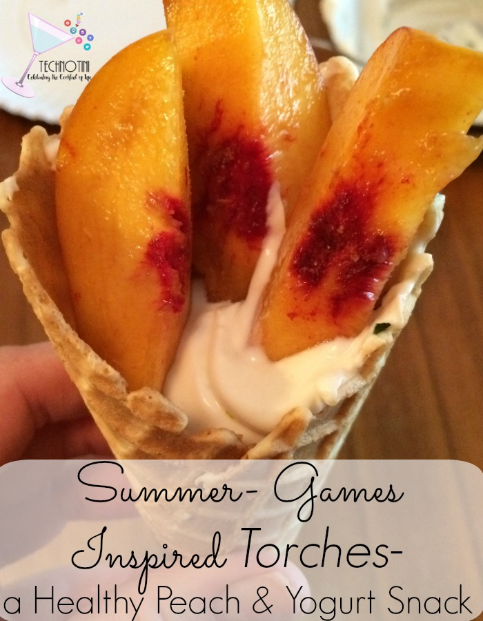 These super easy Healthy Summer Games waffle Torch Yogurt Snacks are a healthy, kid-friendly fun-food that will spark joy in champions of all ages. Read the recipe for the secret ingredient. It's mind-blowingly good! Yum!