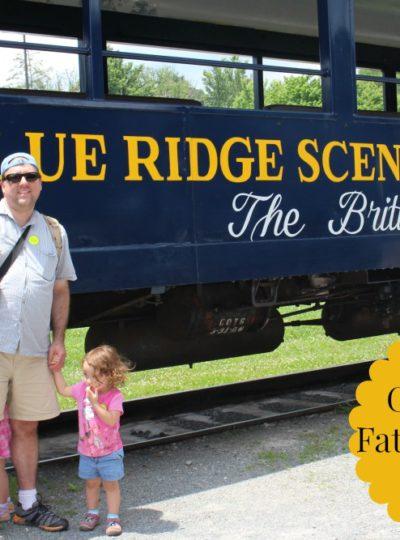 All Aboard the Blue Ridge Scenic Railway!