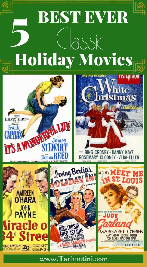 15 Best Ever Holiday Movies Plus Free Bucket List