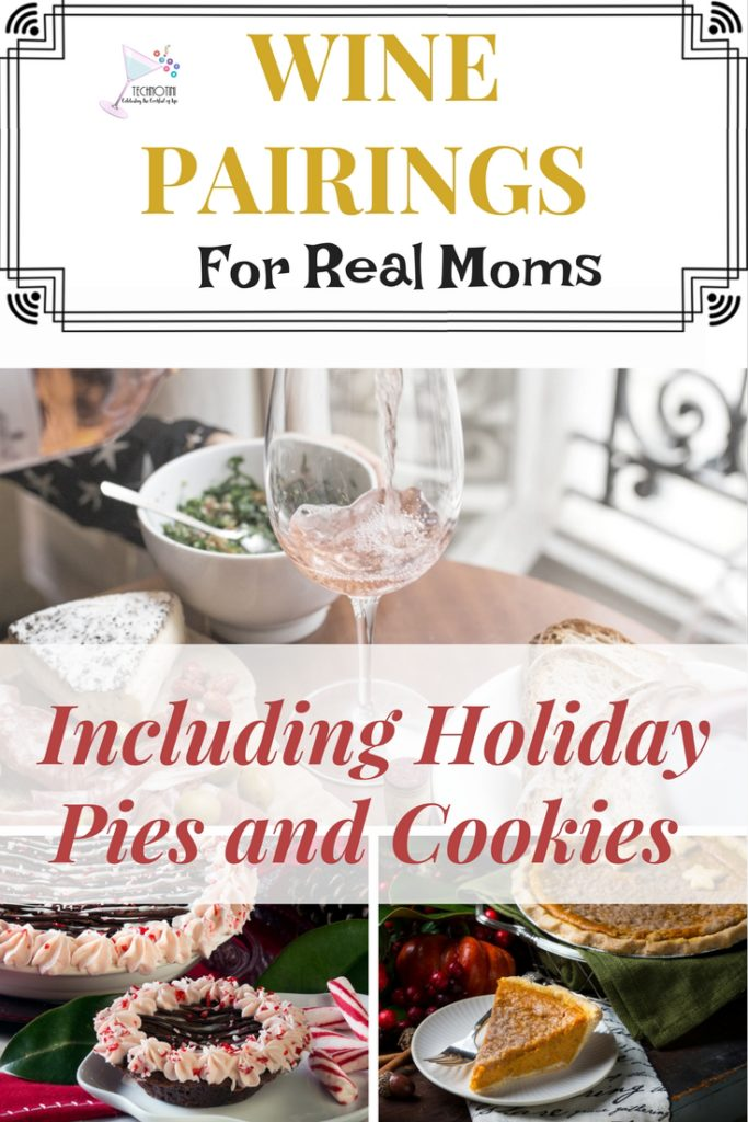 These hilarious wine pairings are perfect for real moms who have to scarf their food as they try to control the chaos of life with kids.  Have you ever paired donuts with wine? How about Girl Scout Cookies?  Whether it's pizza, chicken nuggets, or Halloween candy, holiday cookies, or Thanksgiving Pie these foods are the perfect pairing for the busy mom who wants to relax with some wine and celebrate #momlife.  #wine