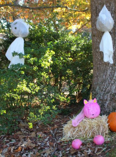 Think Pink Front Porch Decor to Help you Believe in a Cure