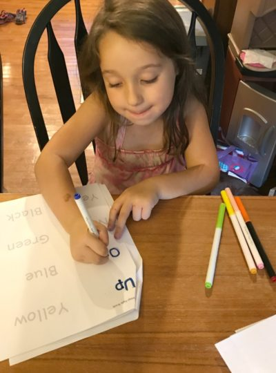 How to create the perfect Rainbow Write Activity