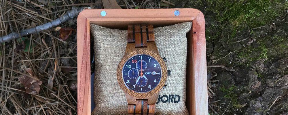 The Jord Chrono Wood Watch