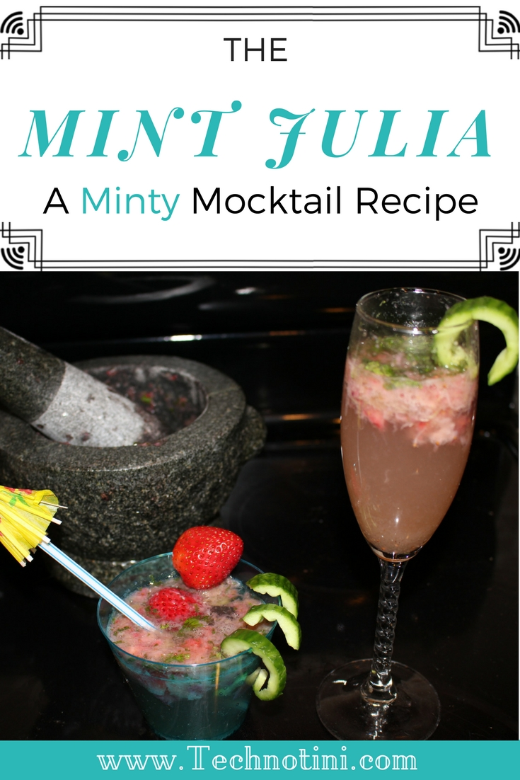 This mint mocktail is not only super refreshing and delicious.  My kids loved drinking it during the Kentucky Derby and then the rest of the Summer.  There's no added sugar, just 5 simple ingredients, which make this minty Mint Julep Mocktail shine! #kidfriendlymocktails #mintjulepmocktail