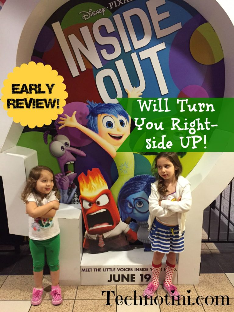"Pixar's ""Inside Out"" is a must-see movie experience for the whole family.  Check out my tips for little ones in this movie review."