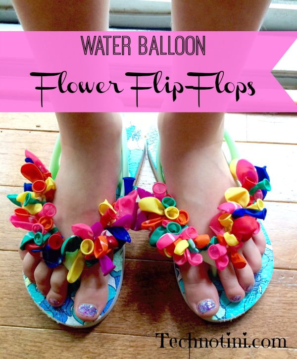 5ad5ebdab30 Water Balloon Flower Flip-Flops - Our Sutton Place