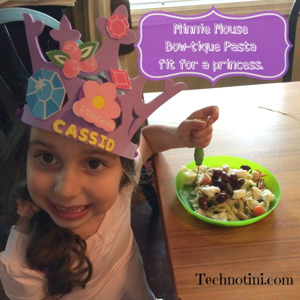 This fun, healthy, easy to make, kid-friendly Minnie Mouse bow tie veggie pasta will become a new family favorite. It's packed with power veggies and light enough for hot summer days. Read my post for time-saving tips, kid-friendly tips, and healthy-dinner tips.