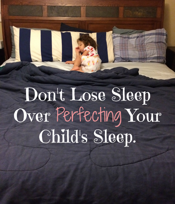 The secret to getting kids to bed, sometimes I think I've got it, sometimes I don't. But what I do know for sure, is that as moms, we can't afford to lose sleep trying to be perfect.