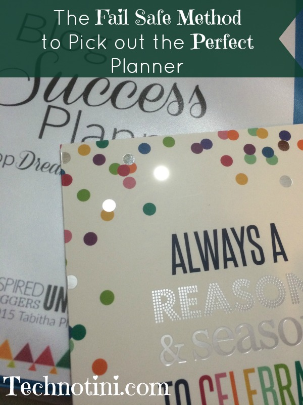 Planners are everywhere these days.  How do you pick the perfect one for you?  I give my tips and tricks to cut through the clutter and figure out which planner system is right for you so you can stay organized year round.