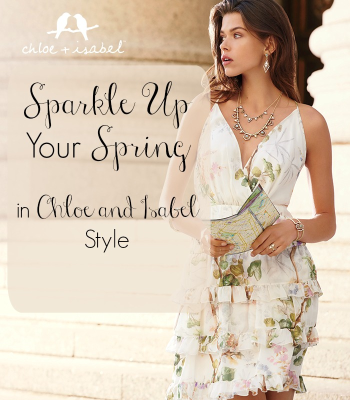 Spring Clean your style with Chloe and Isabel jewelry including personalized charms and earrings, and convertible styles.