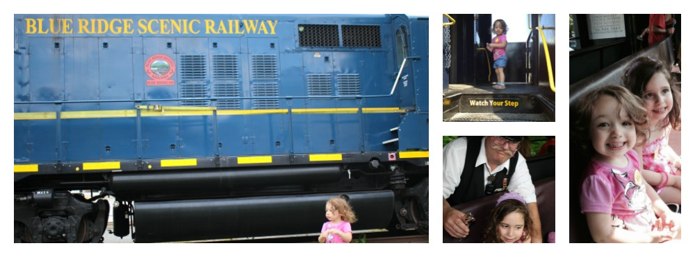 The Blue Ridge Scenic Railway is a great family adventure for kids of all ages and just a short drive north of Atlanta. Check out my tips and tricks for seasonal discounts. Train Trip| Georgia Day Trips | Family Travel
