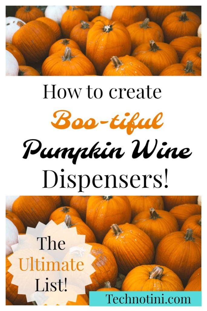 This clever and easy to make a pumpkin wine dispenser (or pumpkin keg) will completely wow your guests.  It's like a jack-o-lantern, but it holds wine!  If you've heard of pumpkin sangria, it's pretty similar but less involved. Check out #5 for the beer lover in your life and Tip #4 for a no-mess solution.