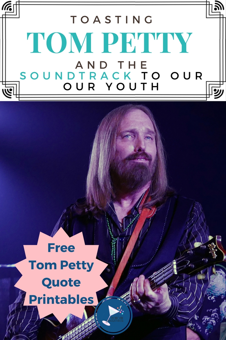 Tom Petty encouraged us to be dreamers but jump with caution. And for a generation of undefined souls, his music was probably just what we needed. I've often found inspiration in music and have created a set of 3 Tom Petty quote printables—FREE in this post! Enjoy!