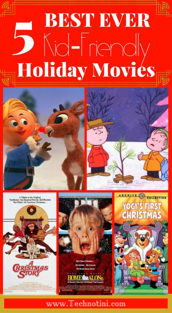 Is it possible to pick JUST 5 favorite Christmas (Holiday) movies? I bet you can't! So I've come up with three lists: Christmas movies for kids, classic Christmas movies, and the best present-day Christmas movies. Did I miss any of your favorites? Plus, download my free Family Holiday Movie Night Bucket List!