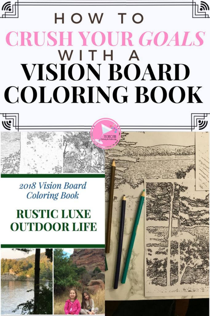Vision Boards are a powerful and creative way to focus on your goals. This year, I decided to add more meaning and intention to my traditional vision boards by turning my goal-oriented photos into coloring pages! It was a super easy and fun DIY craft as well as an effective goal-setting activity.Check out my tips and try it for yourself! Learn more about how to make your own coloring pages. #Sponsored #createyourown #visionboards