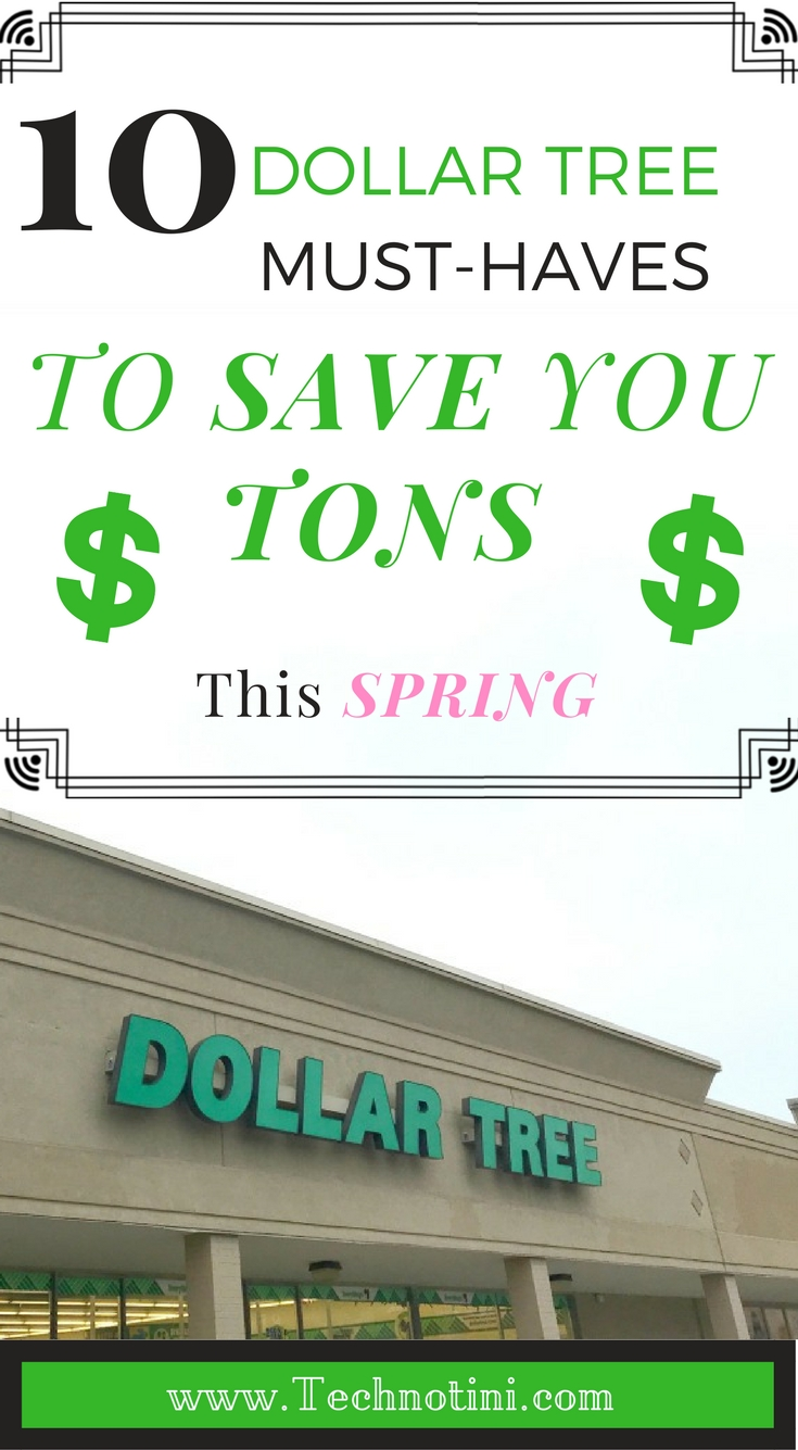 These Dollar Tree must-haves will help save you lots of money for St. Patrick's Day, Easter, spring gardening, parties, spring organizing, and spring break road trips. Check out my list for all my Spring Shopping Savings Secrets. In fact, I use items from Tip #1 multiple times throughout the year, including luau or Margaritaville parties.