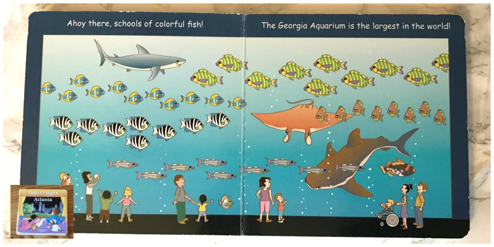 The Georgia Aquarium is the largest aquarium in the world and is a definite must-see while visiting Atlanta or even just enjoying a fun local family day. Be sure not to miss these top 5 attractions. #georgiaaquarium #Atlanta #familytravel