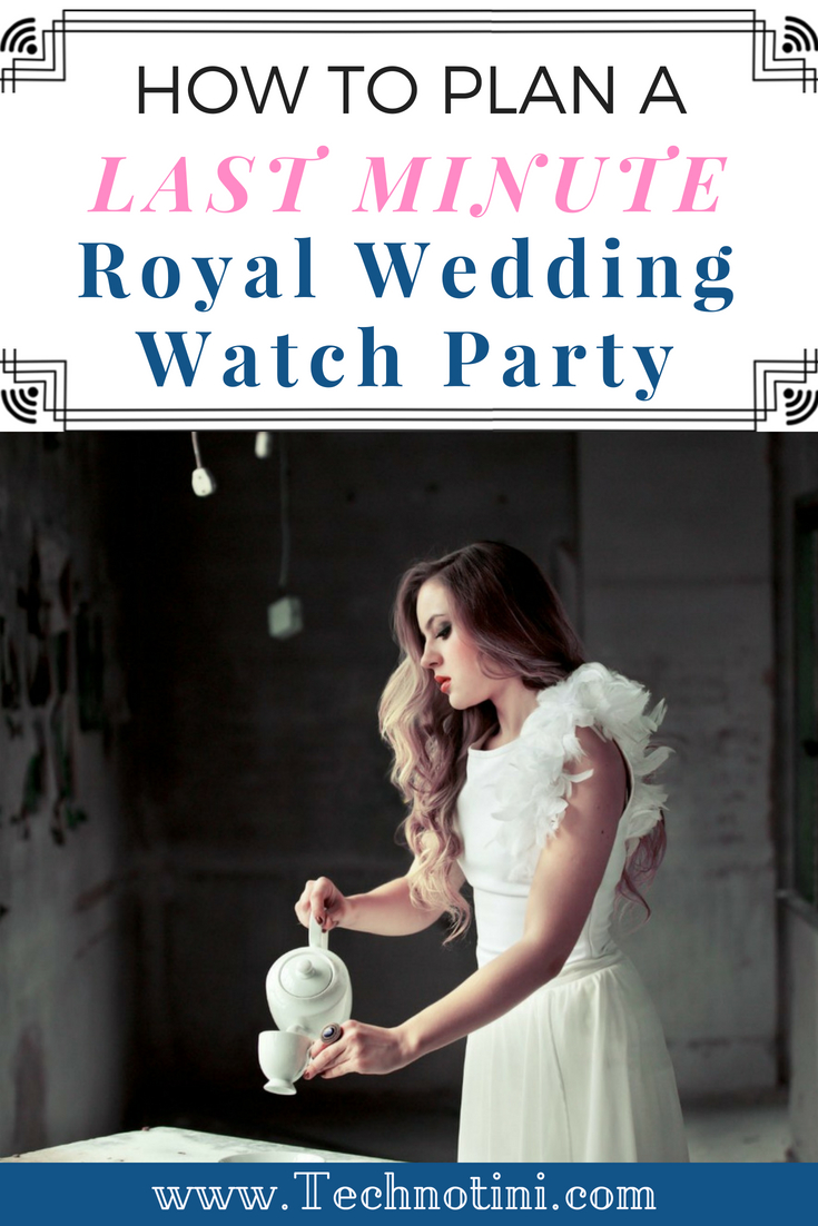 Are you looking for last minute ideas for a quick and easy Royal Wedding Watch party? I've put together simple ways to bring the fun right to your living room, from décor, to place settings, so easy recipes. They're so fun, you won't even realize that it's 6 in the morning